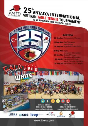 25.INT. VETERAN T.T. TOURNAMENT/ANTALYA