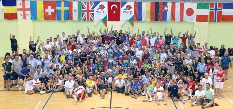 23rd Int. Antalya Vet. TT Tournament 25-29 Sept. 2017